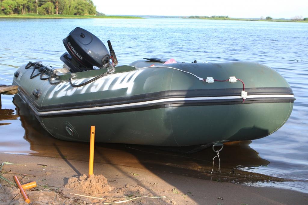 швартовка лодок