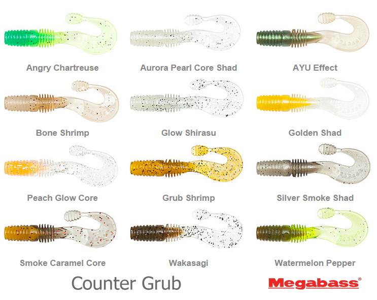 megabass counter