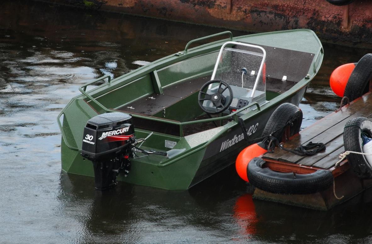 видео лодка виндбот пвх
